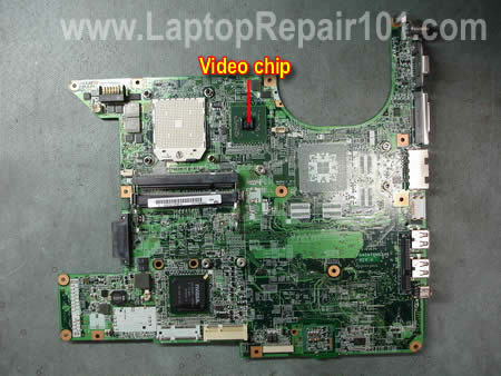 Fixing Compaq motherboard video | Laptop Repair 101