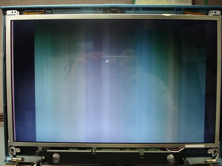 LCD screen no image