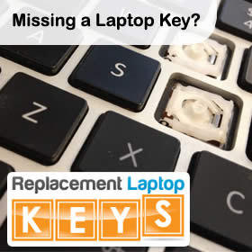 Replacement Laptop Key