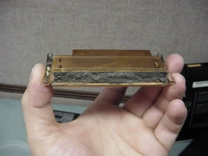 Toshiba Satellite A35 Clogged Heatsink