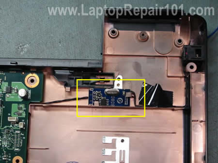 Bluetooth module inside laptop