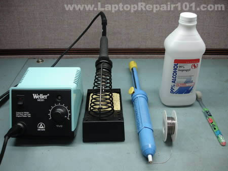 DC jack repair tools