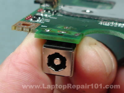 Separating jack from motherboard