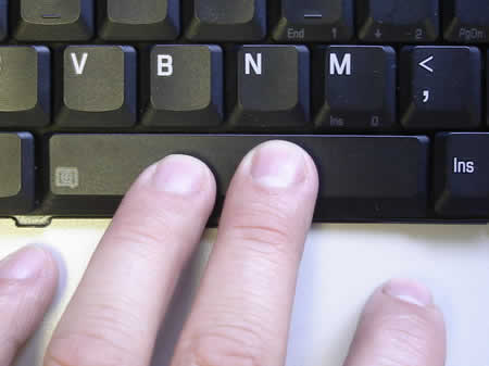Connect space bar