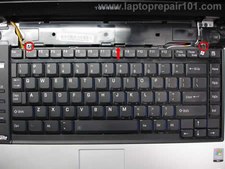Removing keyboard