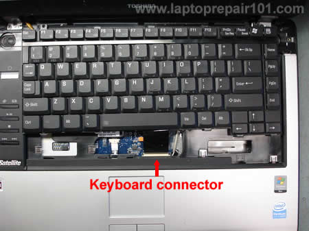 Disconnecting keyboard