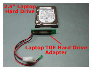 how to connect ide hard drive to pc laptop repair  to connect a laptop hard drive to a desktop computer you have to use a laptop ide hard drive adapter you can easily this adapter on the internet for