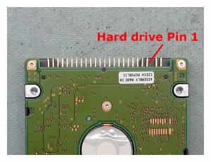 Laptop Hard Drive Pin Layout