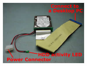 how to connect ide hard drive to pc laptop repair  laptop ide adapter connected