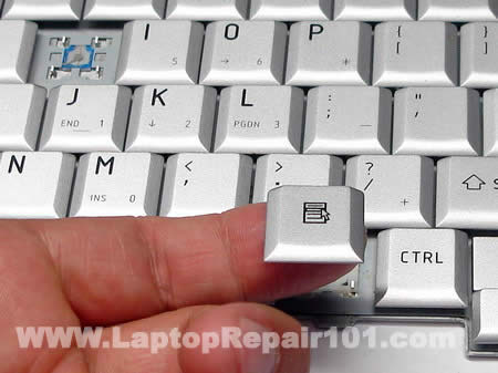Remove key cap