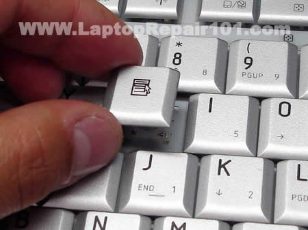 Position key cap