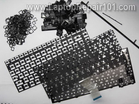 How to open and change keyboard on HP ProBook 4520s - step 3.0