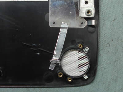 Toshiba Satellite A70 and A75 top cover assembly