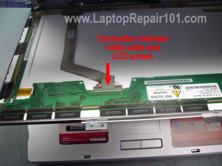 lcd screen turned completely white laptop repair 101 rh laptoprepair101 com